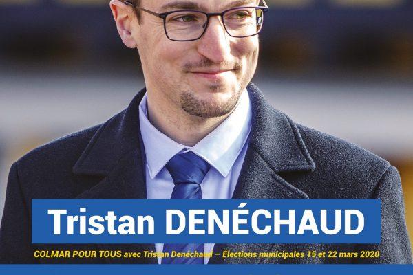 TRACT programme liste Colmar Pour Tous Tristan Denéchaud 1